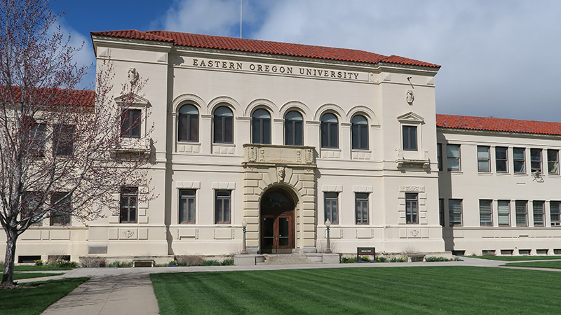 Eastern Oregon University Main Building